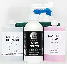 Full Leather Re-Colouring Kit 250ml for Sofas,