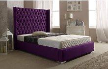 Fuller Upholstered Bed Frame Rosdorf Park Colour: