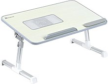 Fully Adjustable MDF Panel Laptop Table | Portable