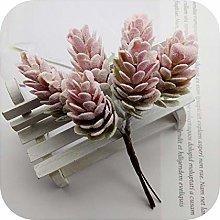 Fun-boutique 6 Pcs Artificial Plants Pineapple