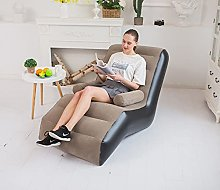 FuncDEme Inflatable Chair Sofa with Armrests,