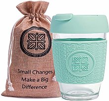 Funk My World Glass Reusable Coffee Cup –