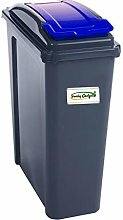 funky gadgets 25L Liter Plastic Recycle Bin Waste