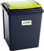 funky gadgets 50L50 Litre Slimline Plastic Recycle