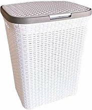 funky gadgets Plastic Laundry Basket Hamper 65L