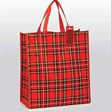 Funky Red Scottish Royal Stewart Tartan Reuseable