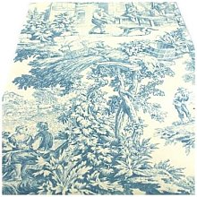 Funky Table - Toile De Jouy Blue tablecloth