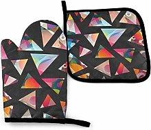 Funky Triangle Seamless Pattern Professional Heat