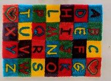 FunkyBuys Alphabet ABC Non Slip Machine Washable