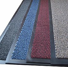 FunkyBuys Barrier Mat Large Door Mat Rubber Backed