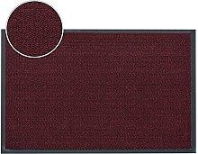 FunkyBuys® Barrier Mat Large Red/Black Door Mat