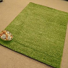 FunkyBuys® LIME GREEN Luxury Branded Rug Large XL