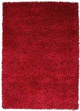 FunkyBuys® WINE RED Luxury Branded Rug Large XL