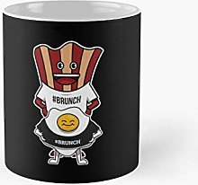 Funny Bacon Egg Brunch Crew Gag Gift Classic Mug -
