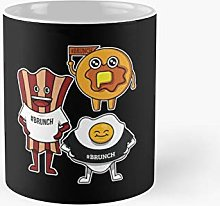 Funny Bacon Egg Pancake Brunch Gag Gift Classic