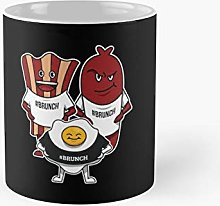 Funny Bacon Egg Sausage Brunch Gag Gift Classic
