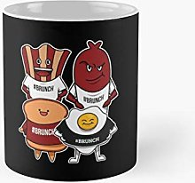 Funny Bacon Egg Sausage Toast Brunch Gag Gift
