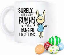Funny Bunny Coffee Mug, Surely Not Everybody was