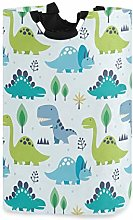 Funny Cartoon Dinosaurs Laundry Hamper Basket