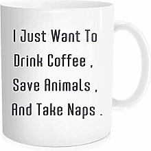 Funny Coffee Mug Tea Cup Inspirational Quote for