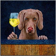 Funny Dog Printing Oil Painting Wall Painting Wall