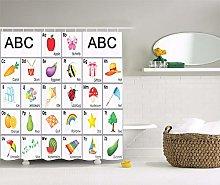 Funny Educational Alphabet Letters Nursery Bath