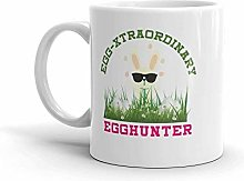 Funny Egg-Xtraodinary Egghunter Easter Cool Bunny