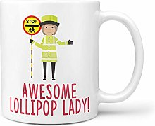 Funny Gift Idea for Lollipop Lady School Gift