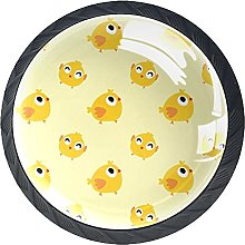 Funny Little Chicken Pattern Knobs for Kitchen