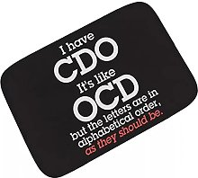 Funny Obsessive Compulsive Disorder OCD Welcome