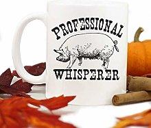 Funny Pig Mug,Pig Whisperer,Farm Mug,4H Pig,Pig