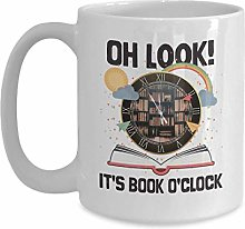 Funny Reading Lover Gift - Oh Look, It's Book