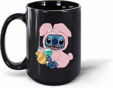 Funny Stitch Easter Egg Ceramic Coffee Mug Tea Cup
