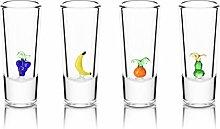 Funny Tequila Shots - Handmade Glass Fruits