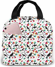 Funny Toco Portable Lunch Bag Insulated Cooler Bag
