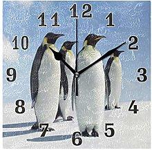 funnyy Cute Animal Penguin Print Square Acrylic