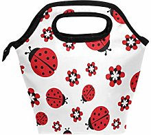 Funnyy Cute Ladybug Red Ladybird Pattern Zipper