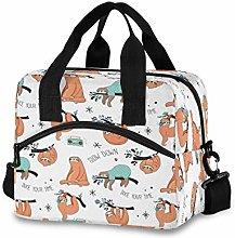 funnyy Cute Sloths Funny Tree Lunch Bags Organizer