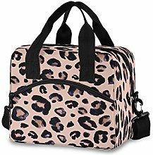 funnyy Leopard Print Animals Lunch Bags Organizer