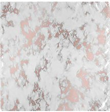 funnyy Marble Rose Gold Cloth Napkins Washable