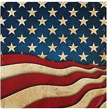 funnyy Vintage American Flags Cloth Napkins