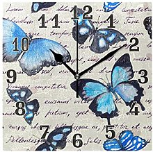funnyy Vintage Animal Butterfly Print Square