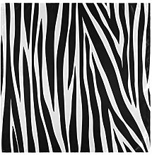 funnyy Zebra Animals Print Cloth Napkins Washable