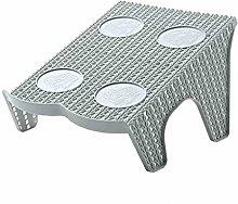 FUNRE Shoe Slots Double Layer Plastic Space Saver