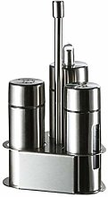 Funsquare Seasoning Bottle Set - Condiment Holder,