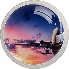 FURINKAZAN Cabinet Knob Pull Handle Airplane with