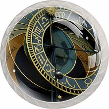 FURINKAZAN Cabinet Knob Pull Handle Astronomical