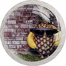 FURINKAZAN Cabinet Knob Pull Handle Pineapple with