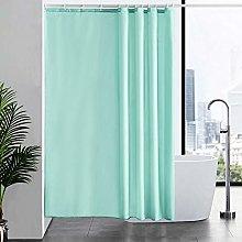 Furlinic 180x200cm Shower Curtain Polyester Fabric