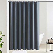 Furlinic Shower Curtain Dark Grey EVA Waterproof